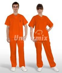 Komplet medyczny, pomarańczowy. JC125