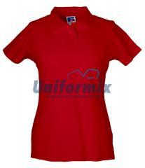 Polo damskie, czerwone, R50200