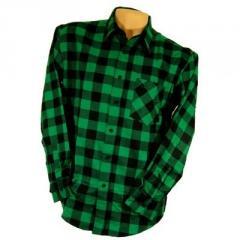Koszula flanelowa Urgent green