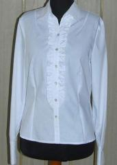 Bluza damska z żabotem B2