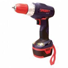 Wkrętarka Sparky 12 V z latarką LED