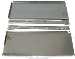 Komplet Metabox SPR 10150 H=150mm w kolorze szarym