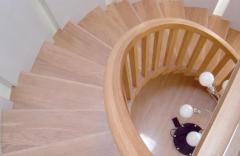 Ladders half-spiral