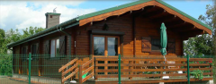 Houses made of lumber