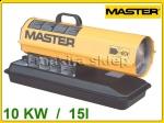Nagrzewnica olejowa B35CEL 10KW Master B 35 CEL