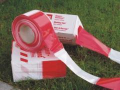 Taśma ostrzegawcza biało-czerwona (U-22)
