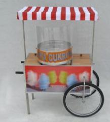 Urządzenie do waty cukrowej TORNADO na wózku