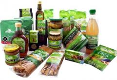 Baby organic food