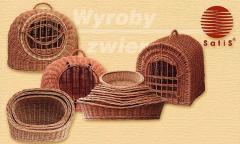 Wyroby wiklinowe dla zwierząt