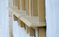 Parapety z piaskowca