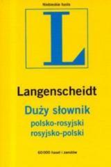 Duży słownik polsko-rosyjski; rosyjsko-polski