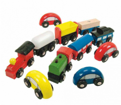 Wood rolling toys