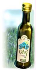 Flaxen oil