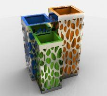 Litter-bins for streets
