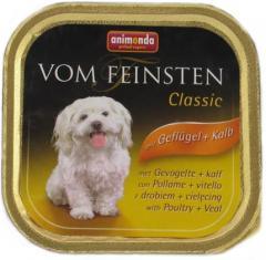 Karmy Animonda dla psa 150g Adult Drób i cielęcina