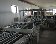 Machineries for gluing sheets
