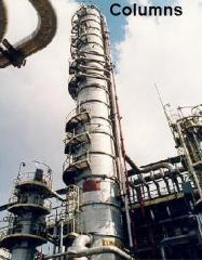 Kolumny dla przemysłu chemicznego i