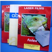 Film for laser printers