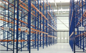 Row pallet racking