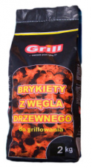 Briquettes for BBQ