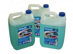 Liquids for washing of windshield