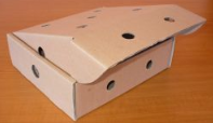 Karton na elementy kurczaka Wokar model: 0421