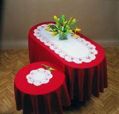 Lacy tablecloth