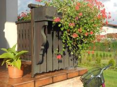 Balkony drewniane