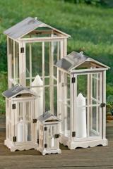 Drewniane Latarnie Maison