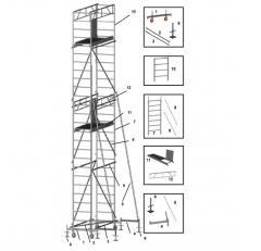 Rusztowanie Goliat (80 x 160cm)