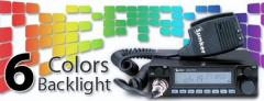 Radio CB SUNKER Elite Five (ASQ, ANL filtr, Dual Watch, Scan, LCD display)