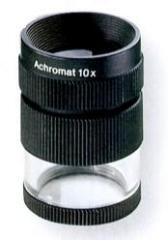Lupa achromatyczna 10x : w komplecie skala 115201