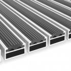 Mata na profilu aluminiowym Clean Rubber