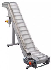 Belt conveyor flat or nclined adapted for use in
