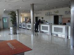 Корпуса столбов, лифтовые порталы, декоративные