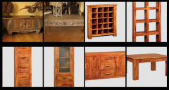 Furniture colonial handmade