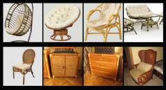 Wicker rattan furniture