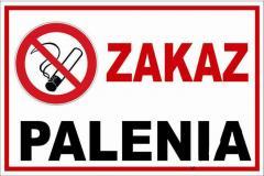 Tablica Zakaz Palenia