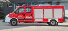 Special fire trucks