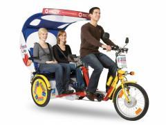 Taksówka rowerowa Draisin-Taxi
