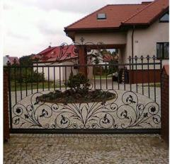 Hammered gates