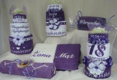 Ręczniki haftowane