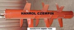 Bębny, wały rozrzucające FORTSCHRITT T088, ANNABURGER Hanrol