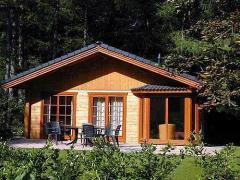 Dom drewniany letniskowy L1
