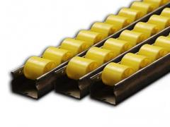 Rubber structures, blocks, platens, rollers and