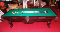 Stylowy stół bilardowy + akcesoria