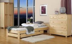Łóżko drewniane Niwa