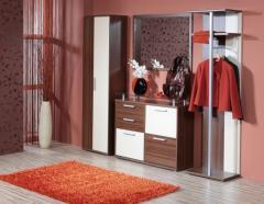 Garderob AIDA-Kernnuss/crem