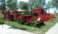 Agricultural machines