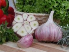 Peeled vegetables